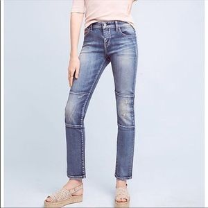 Anthropologie Pilcro Parallel Mid Rise Jeans